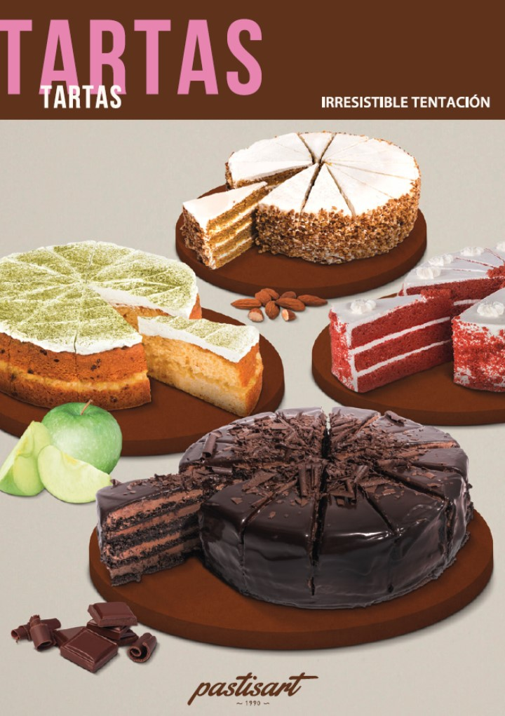Pastisart introduces a new range: Cakes